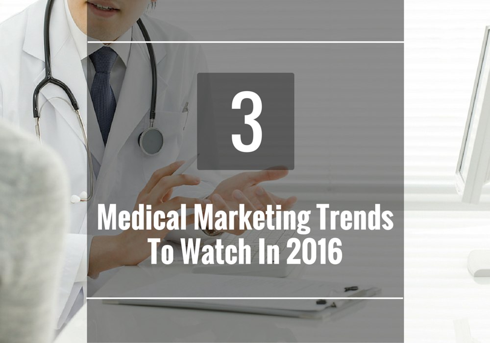 3 Medical Marketing Trends To Watch in 2016